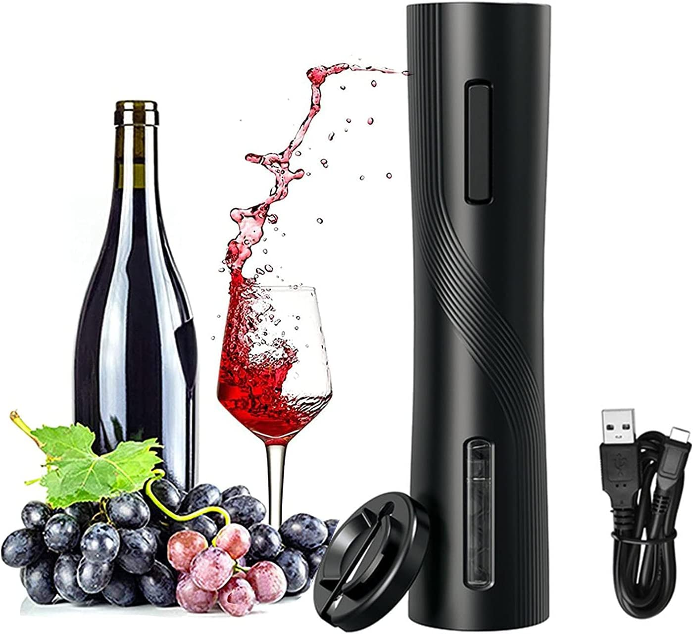 Electric Wine Opener Chargeable Automatic Bottle Kansas City Mall C Dedication Cordless