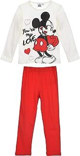 Minnie Mouse Niñas Pijama Largo