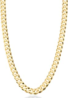 Best gold cuban chain necklace Reviews