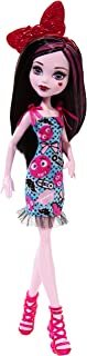 Monster High Draculaura Girl Doll - Wearing Emoji-Inspired Monster High Doll Clothes - Fun Dress Up Halloween Toy - Collect all Her Monster Doll Friends Too - Look like their Characters on TV