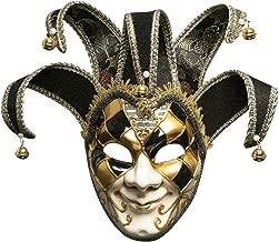 Vetasac Men's Venetian Masquerade Masks Halloween Mardi Gras Mask XP010