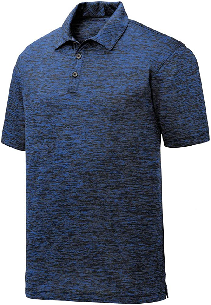 DRIEQUIP Moisture Wicking Ranking TOP20 Electric Heather Clearance SALE! Limited time! Shirts XS- Sizes Polo