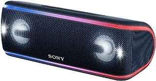 ソニー SONY ワイヤレスポータブルスピーカー SRS-XB41 : 防水・防塵・防錆/Bluetooth/専用スマホアプリ対応 ライティング機能搭載 2018年モデル ブラック SRS-XB41 B