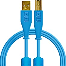 Chroma Cables: Audio Optimized USB-A to USB-B Cable (Blue)