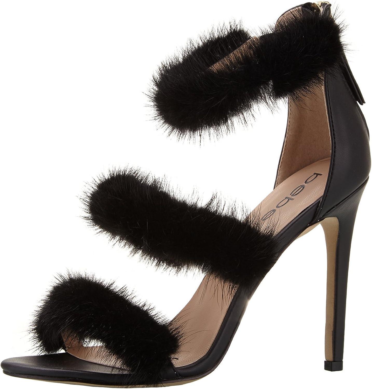 Bebe Women's Berdine-f Heeled Sandal