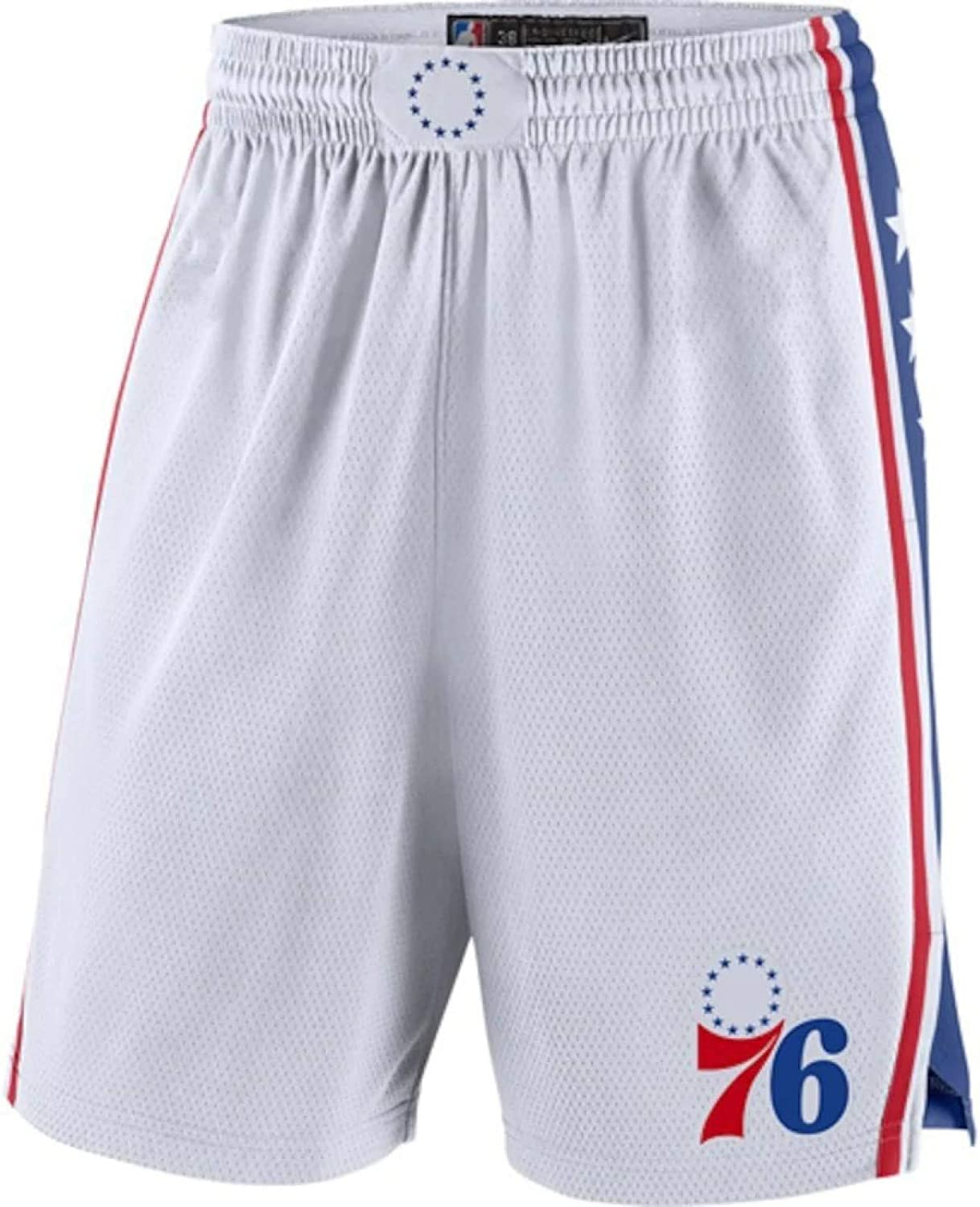 Popular shop is Louisville-Jefferson County Mall the lowest price challenge HFDH Men's Jersey Shorts 76ers Basketball Mesh S Training