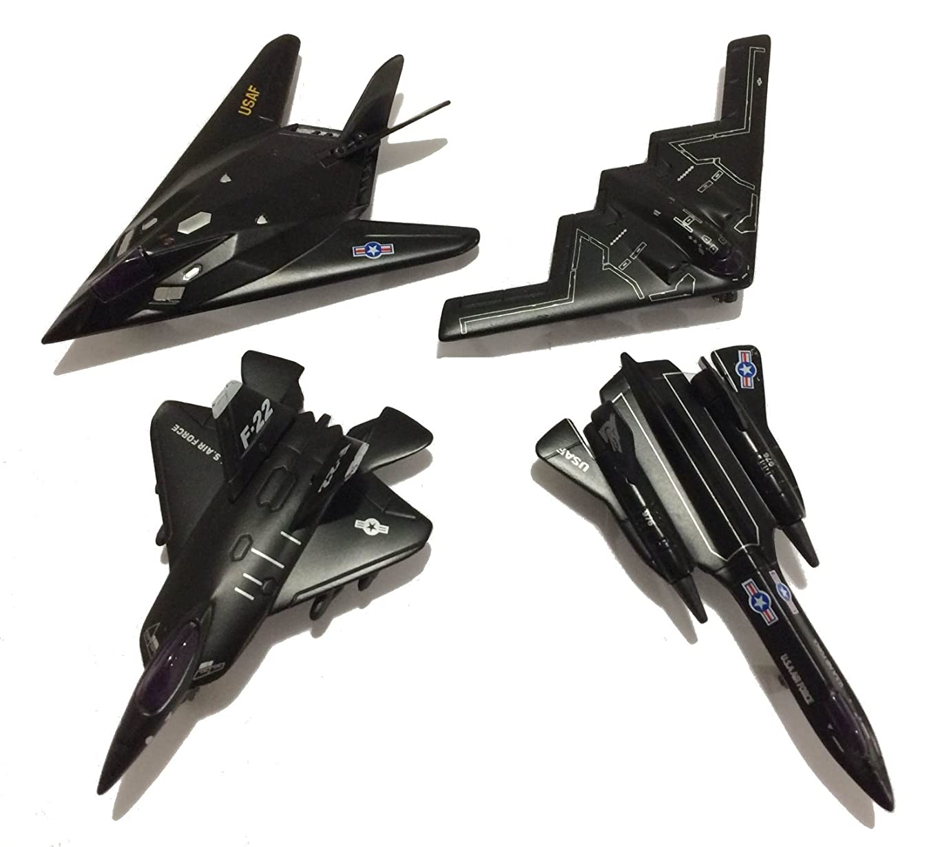 Just For Laughs Die-Cast Metal X Force Jet Plane 5124 - Air Force USAF