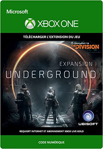 TOM CLANCY'S THE DIVISION: Souterrain [Extension du Jeu] [Xbox One – Code jeu à télécharger]