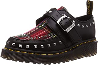 Zapatos para Mujer, Color Negro, Marca DR. MARTENS, Modelo Zapatos para Mujer DR. MARTENS Ramsey Monk Tartan Negro