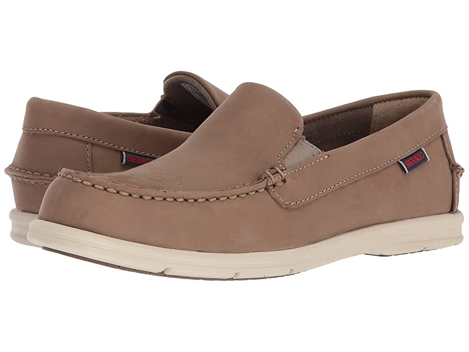 Sebago Litesides Slip-On (Dark Taupe Leather) Women