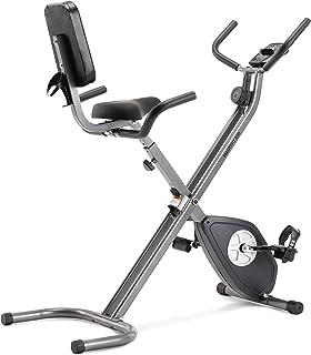 comprar comparacion CADENCE Unisex SMARTFIT 200 Faltbares Fitnessfahrrad, Schwarz und Silber