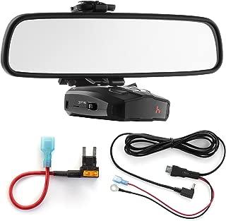 Radar Mount Mirror Mount + Direct Wire + Mini Add a Circuit - Cobra XRS ESD Vedetta