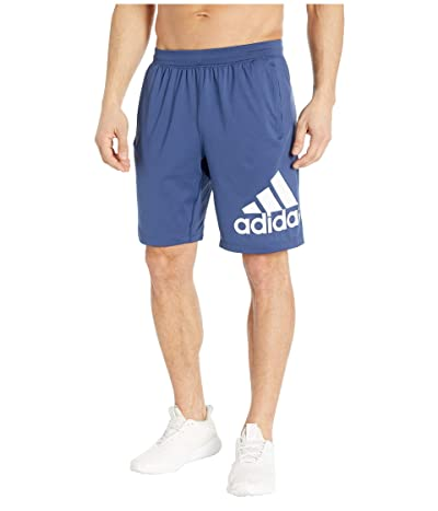 adidas 4KRFT 9 Badge of Sport Shorts (Tech Indigo) Men