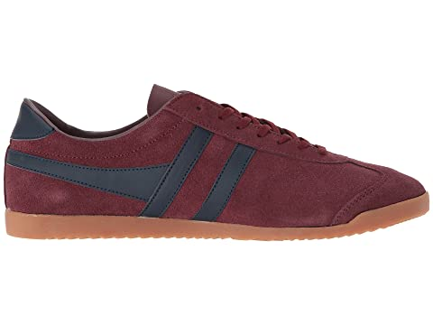 Gola Bullet Suede Burgundy/Navy/Gum Sale For Cheap IFbUmb6e