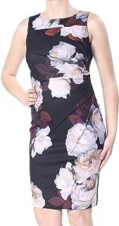 Calvin Klein Women's Dress Sheath Starburst Floral-Print