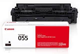 Canon Genuine Toner, Cartridge 055 Black (3016C001) 1 Pack, for Canon Color Image CLASS MF741Cdw, MF743Cdw, MF745Cdw, MF74...