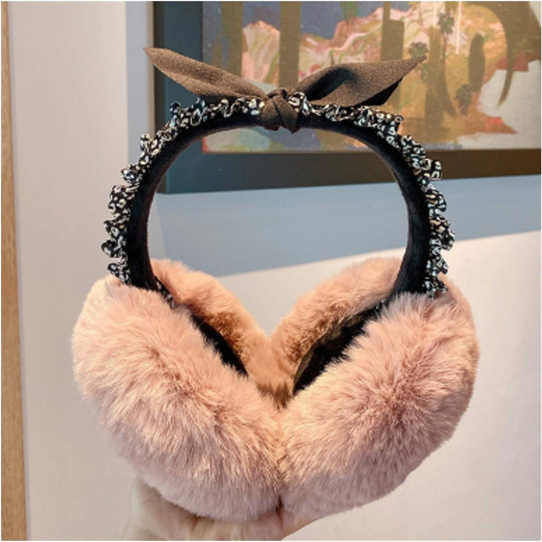 Women's Earmuffs Winter Ear Warmer Plush Free shipping on Max 87% OFF posting reviews Soft Bags Warm Keep