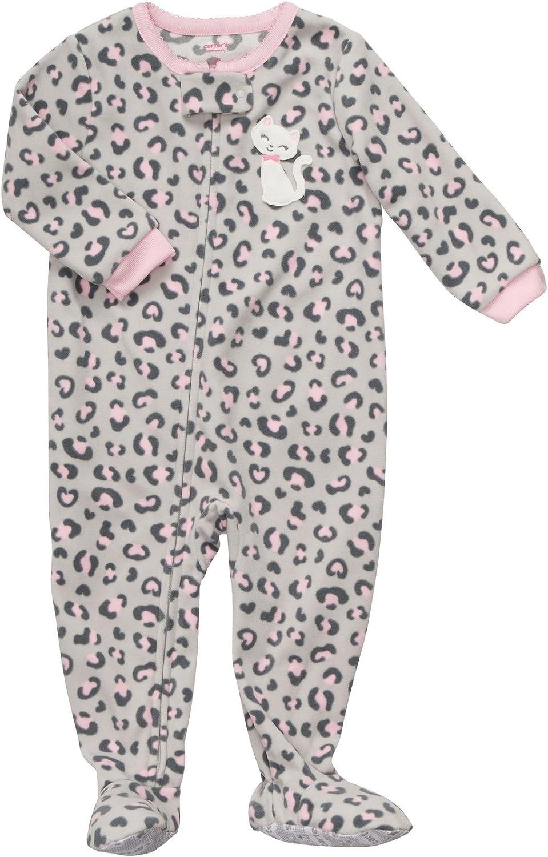Carter's Toddler Footed Fleece Sleeper - Cheetah