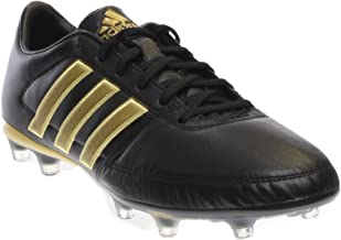 Adidas Gloro 16.1 Firm Ground Cleats [CBLACK & Gold] 5.5