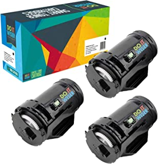 Do it Wiser Compatible Toner Cartridge Replacement for Dell S2815dn H815dw S2810 S2810dn S2815 - F9G3N 593-BBML (3,000 Pages, Black, 3-Pack)