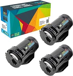 Do it Wiser Compatible Toner Cartridge Replacement for Dell S2815dn H815dw S2810 S2810dn S2815 - F9G3N 593-BBML (3,000 Pages, Black, 3-Pack)