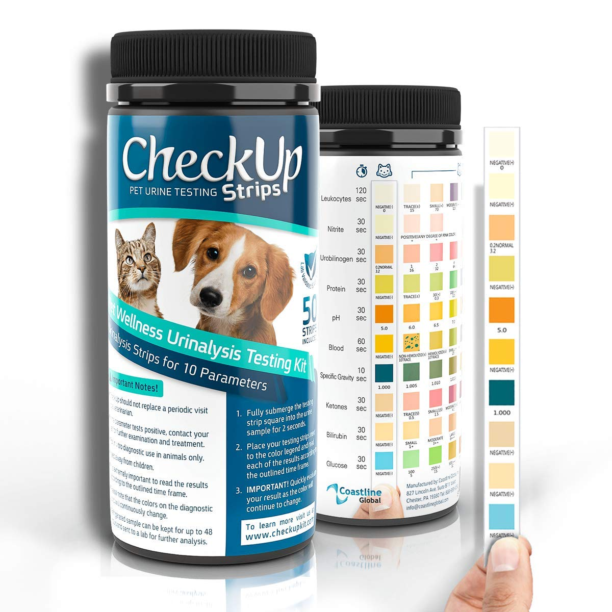 Test de orina para perros