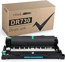 جایگزینی کارتریج تونر سازگار با V4INK برای Brother DR730 (1-Pack) ، جهت استفاده در HL-L2350DW HL-L2390DW HL-L2395DW HL-L2370DW DCP-L2550DW MFC-L2710DW MFC-L2730DW MFC-L2730DW H