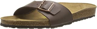 Birkenstock Australia Women's Madrid Sandals, Dark Brown, 40 EU