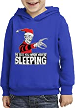 He Sees You When You're Sleeping Toddler/Youth Fleece Hoodie