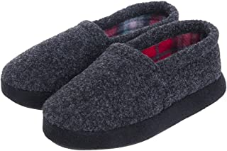 MIXIN Boys Spring Winter Warm Comfy Indoor Slip-on House Slippers Anti-Slipping Sole Shoes (Toddler Little Kid)