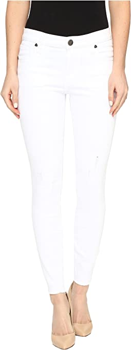 Connie Ankle Skinny in White