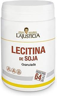 Ana Maria Lajusticia - Lecitina de SOJA - Soy Lecithine – 450 Grams. Lowers Blood Cholesterol and Improves Memory. Suitabl...