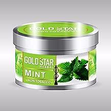 GOLDSTAR Herbal NON Tobacco Smoke MINT Flavor Premium Hookah 200 gm