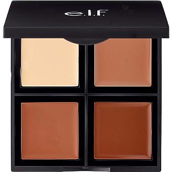 e.l.f Cream Contour Palette, Bronzer, Highlighter & Shader, 0.43 Ounce