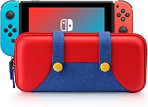 Carrying Case Compatible with Nintendo Switch Protective Hard Shell Portable Travel Carry Case Bag for Nintendo Switch Console and Accessories