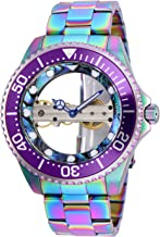 Invicta Men's Pro Diver Mechanical Hand Wind Watch with Stainless Steel Strap, Silver, 22 (Model: 26412)