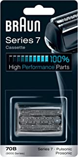Braun Replacement Shaver 70B Black, Compatible with Series 7Razors
