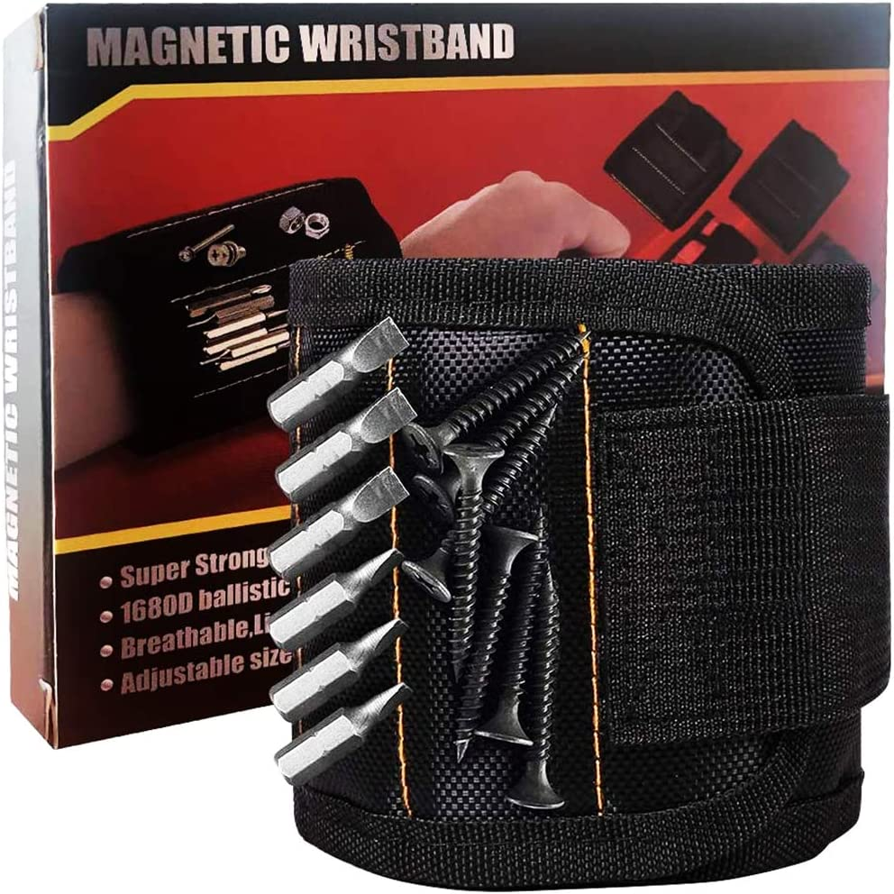 Magnetic Wristband with 15 Regular store Strong Magnets Best New item Ma Gifts DIY Dad