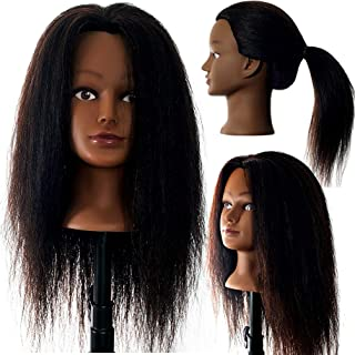 100% Real Hair Mannequin 22