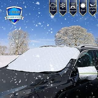 UV Sonne EIS 215 * 125cm Staub Tvird Frontscheibenabdeckung Auto,Winterschutz Abdeckung Scheibenabdeckung Fixierung Faltbare Windschutzscheibe Auto Abdeckung Frost Perfekte Gegen Schnee