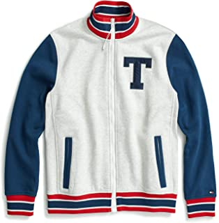 Tommy Hilfiger Men's Adaptive Track Jacket with Magnetic Zipper