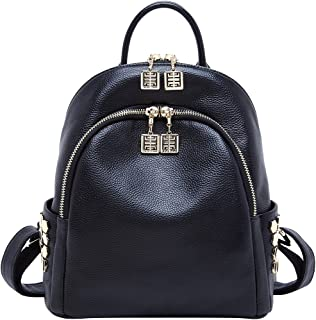 4731a3a132a BOYATU Genuine Leather Backpack for Women Designer Mini Backpacks Fashion  Purse