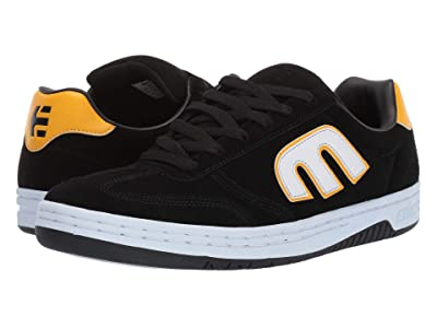 etnies LoCut (Black/White/Yellow) Men