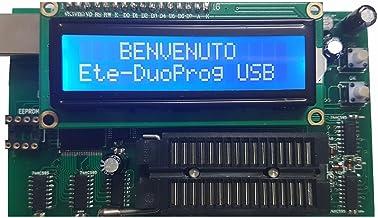 ETETRON Duplicatore autonomo e Programmatore USB x EPROM 27C, 24C, 25C, 93C (27C256, 27C512, etc.)