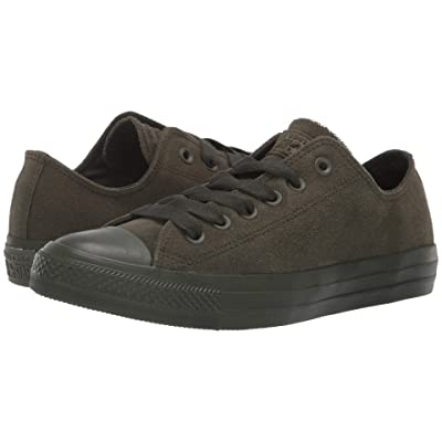 Converse Chuck Taylor All Star Tonal Suede Ox (Utility Green/Utility Green/Utuility Green) Lace up casual Shoes