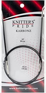 3.75mm 110131 20cm Knitters Pride Karbonz Double Pointed 8-inch Knitting Needles; Size US 5