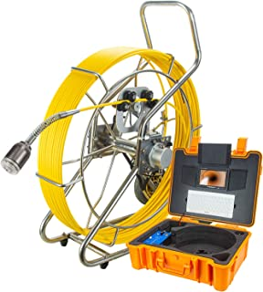 Endoscopio de tubo de pantalla grande de 7 pulgadas, cámara de inspección de cuentas, detector interno diámetro de la cáma...