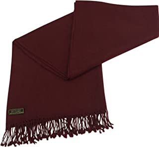 High Grade 100% Cashmere Shawl Pashmina Scarf Wrap Stole Hand Made in Nepal CJ Apparel NEW