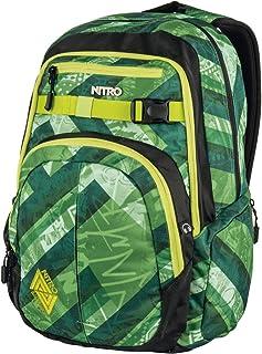 Nitro Snowboards Chase - Mochila, Color Wicked Green, Talla 51 x 37 x 23 cm
