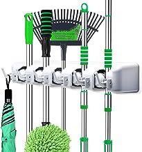 LETMY Broom Holder Wall Mounted – Mop and Broom Hanger Holder – Garage..